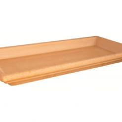 Sottocassetta idrorepellente cm.41 terracotta