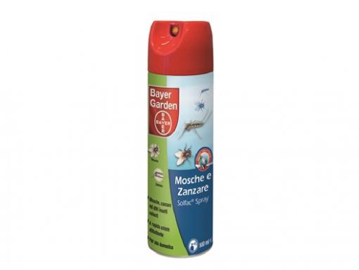 Solfac spray mosche zanzare acari ml.500