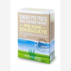 Sementi per prato zone soleggiate kg.7 - Natural Green