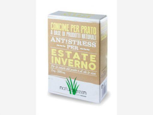 Concime per prato Antistress Estate Inverno kg.7 - Natural Green