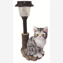 Lampada gatto con solare