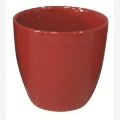 Portavaso Cozumel cm.16 colore Rosso