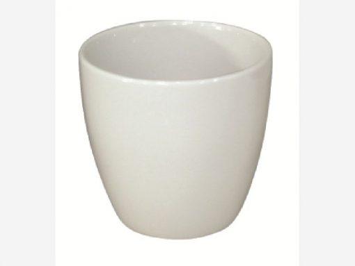 Portavaso Cozumel cm.19 bianco