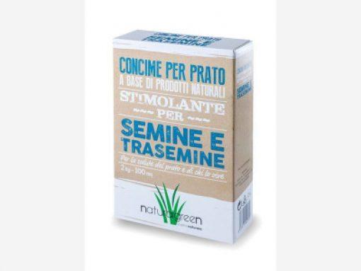 Concime per prato per semine e trasemine kg.7 - Natural Green