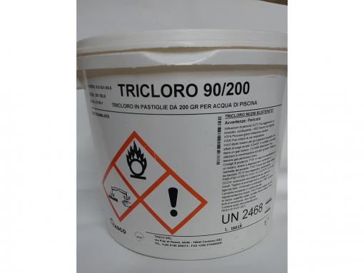 Tricloro 90/200 in pastiglie kg.5