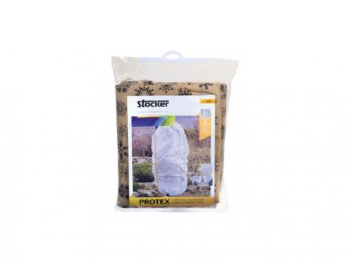 Cappuccio protettivo beige mt.1,2x1,6 gr.30 - pz.2 con cerniera e corda