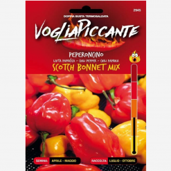Sementi in bustina di peperoncino Scotch Bonnet mix