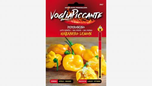 Sementi in bustina di peperoncino Habanero Lemon