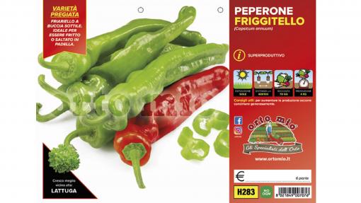 Piantine in pack Peperone friggitello varietà Torricello F1