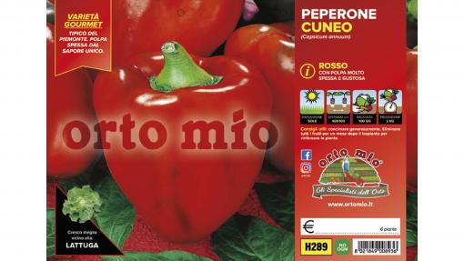 Piantine in pack Peperone rosso di Cuneo F1