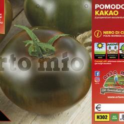 Piantine in pack Pomodoro Nero di Crimea varietà Kakao F1