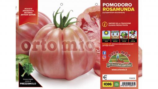 Piantine in pack Pomodoro cuore ligure rosa variet? Rosamunda F1