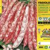 Piantine in pack Fagiolo nano Borlotto varietà Lingua di Fuoco