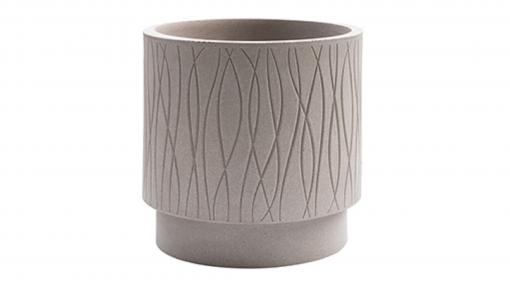 Vaso cilindro Naturalia cm.40 avana