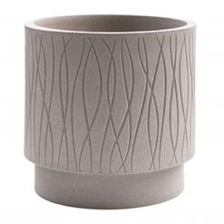 Vaso cilindro Naturalia cm.30 avana