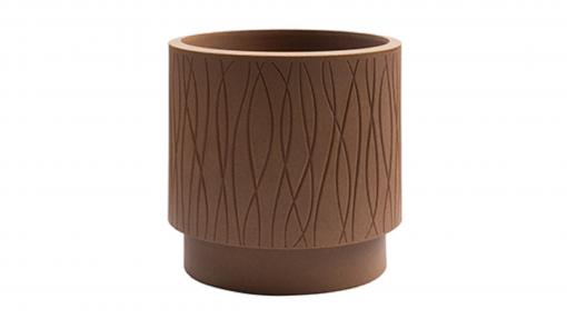Vaso cilindro Naturalia cm.30 corten