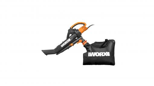 Soffiatore Aspiratore Trituratore Elettrico 3000W Worx WG505E