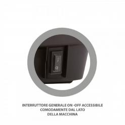"""Solforatrice a zaino elettrica""""Dinamica""""con batteria ricaricabile 12V"""