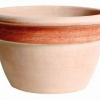 Campana graffiata in terracotta cm.42