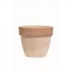 Vaso palladio graffiato in terracotta cm.40