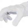 Guanto da lavoro in pelle bianca mis.11/XL