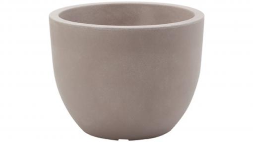 Vaso conca cm.60 avana
