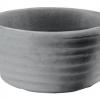 Conca tonda rigata cm.35 antracide