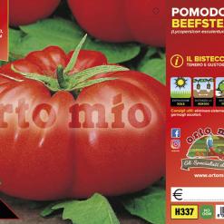 Piantina in vaso 10 Pomodoro gigante varietà Beefsteak F1