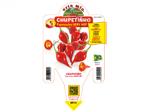 Peperoncino Cupetinho - vaso 14