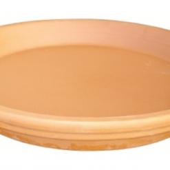 Sottovaso in terracotta tondo cm.36